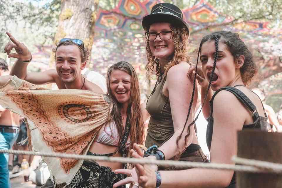 Fans enjoying at Insomnia Festival