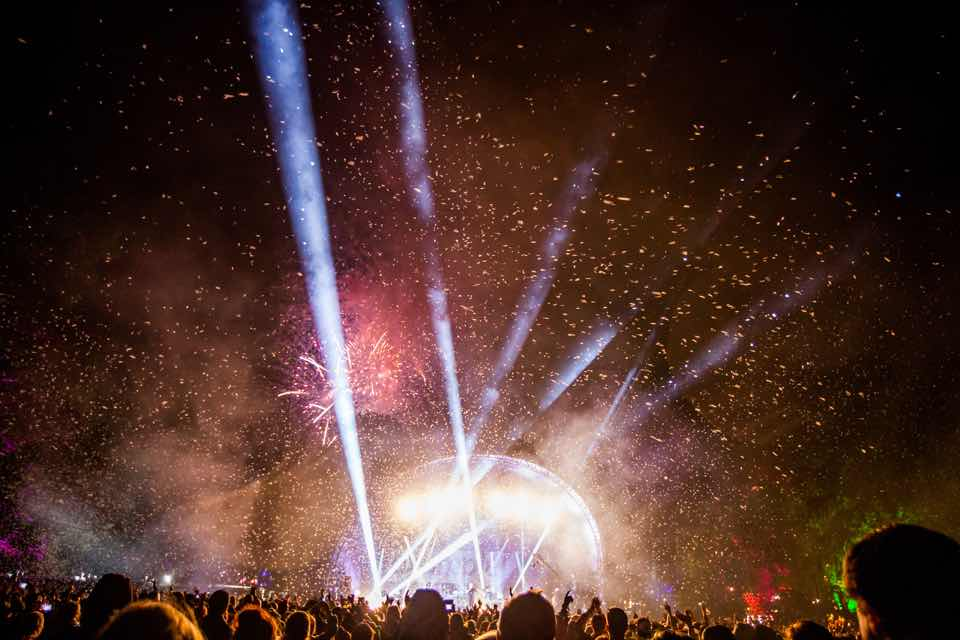 Party stage at Kendal Calling Festival
