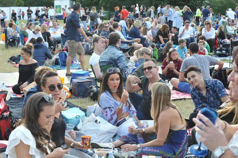 Picnic time at Kew the Music Festival