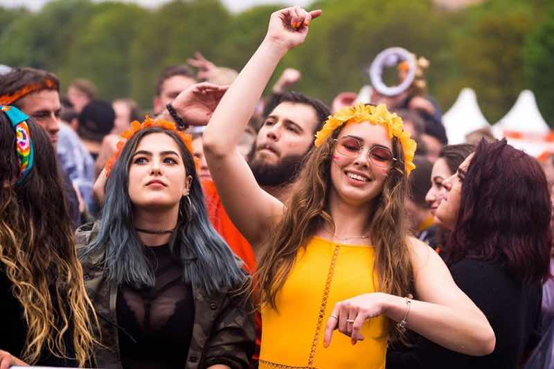 Fans excited at Kingsland Festival Groningen
