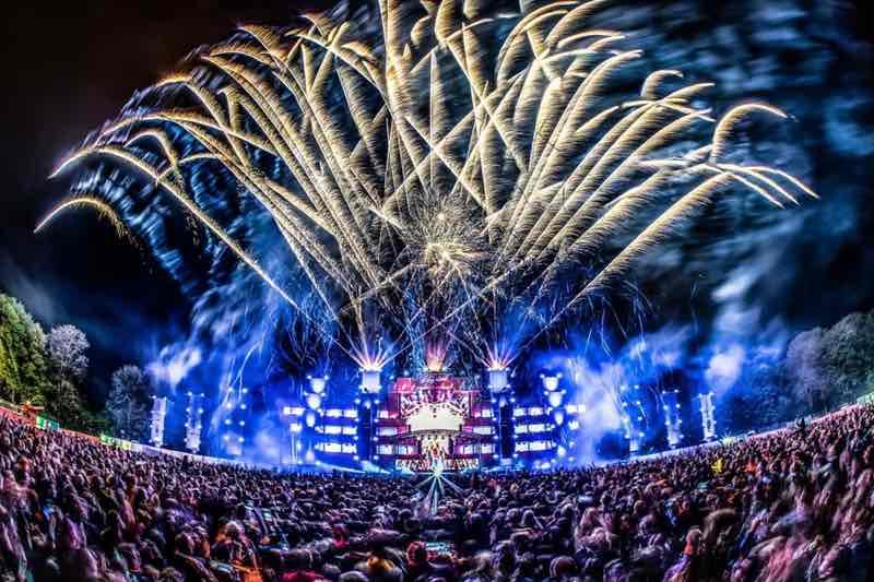 Fireworks at Kingsland Festival Groningen