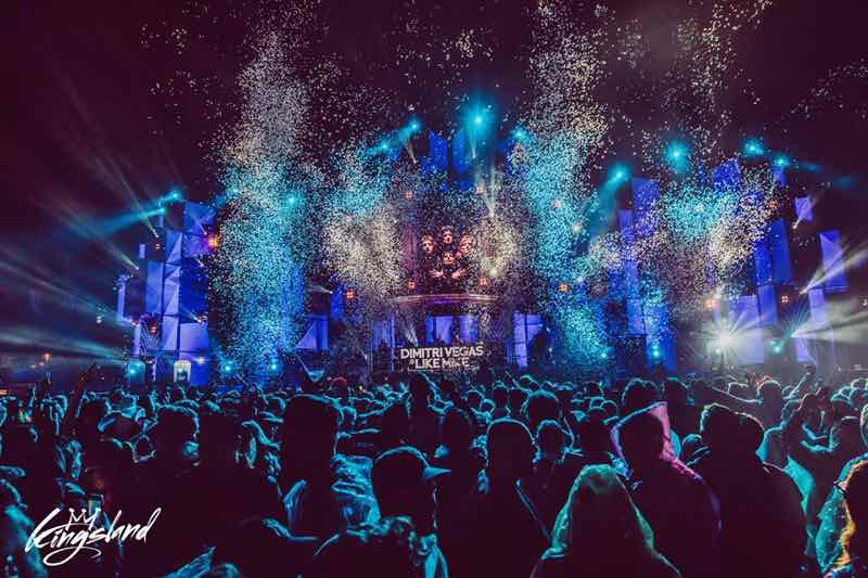 Party stage at Kingsland Festival Rotterdam