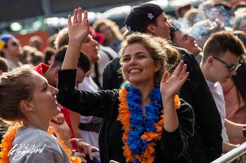 Fans enjoying at Kingsland Festival Tilburg