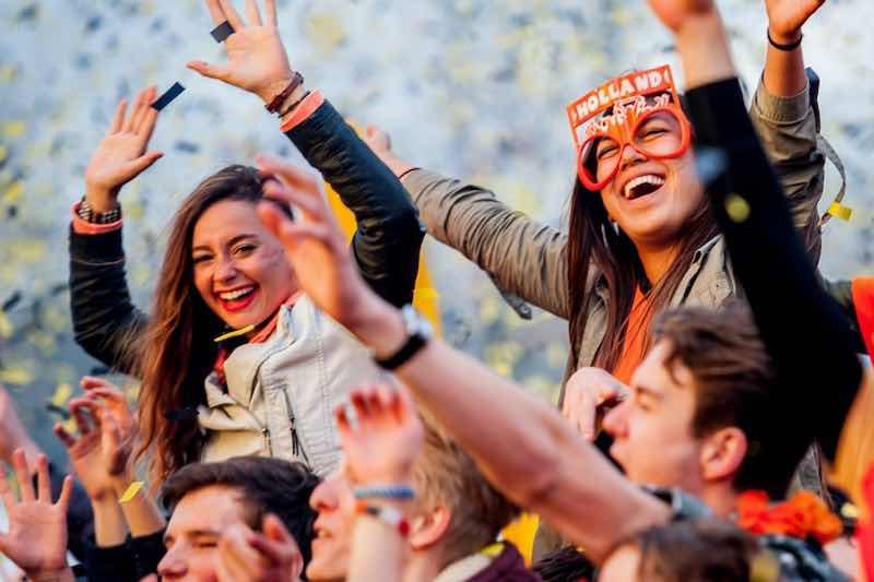 Fans excited at Kingsland Festival Tilburg