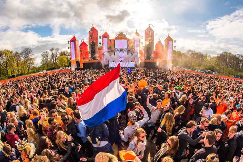 Main stage at Kingsland Festival Tilburg