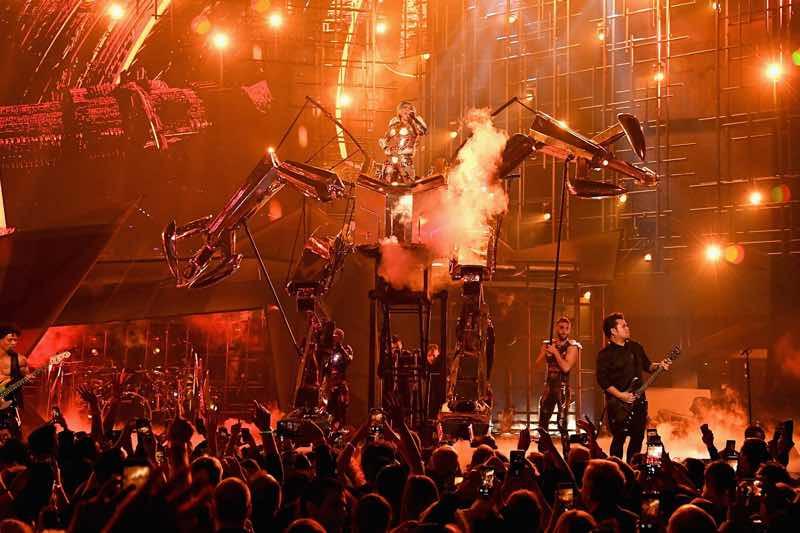 Las Vegas enigma show Lady Gaga Concert London