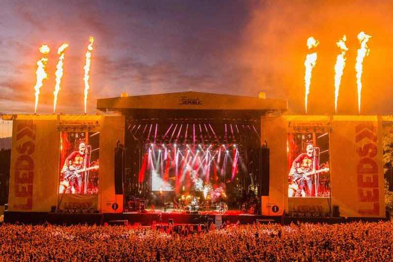 Leeds and Reading best music festivals in the UK