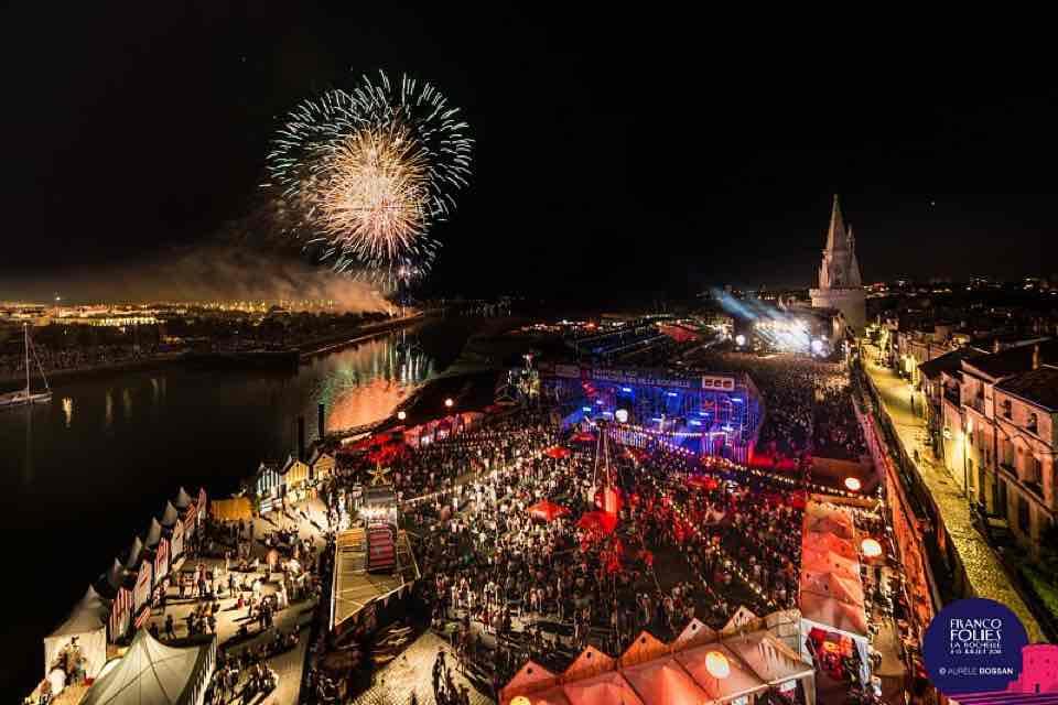 Fireworks at Les Francofolies Festival