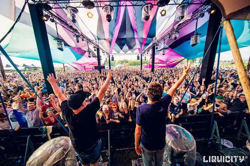 Performing at Liquicity Festival