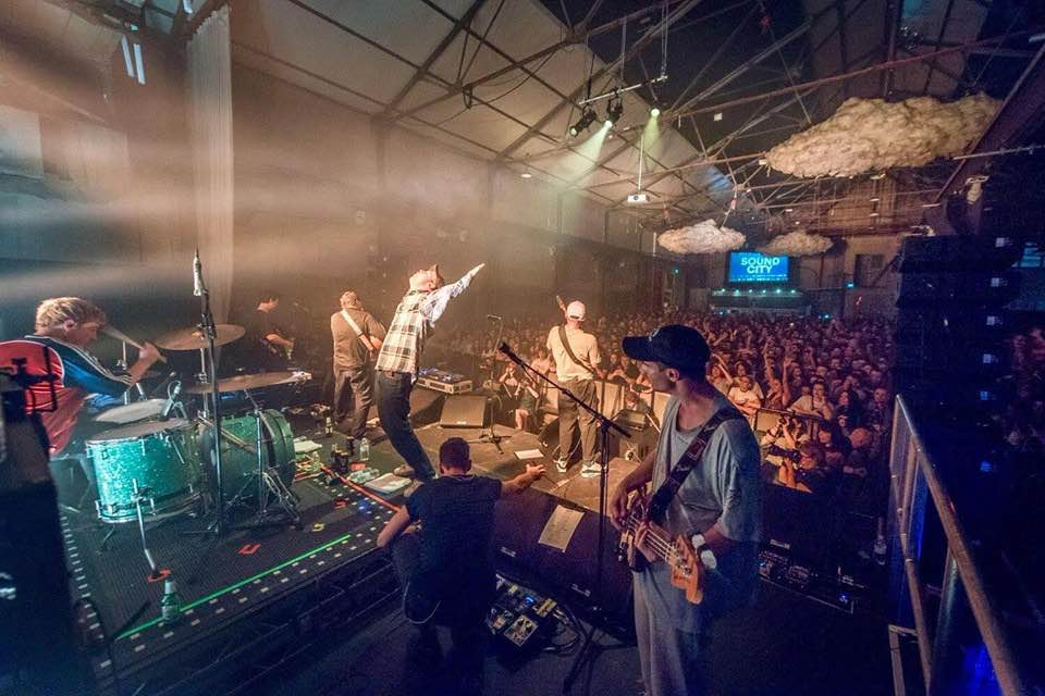 Indoor stage at Liverpool Sound City Festival