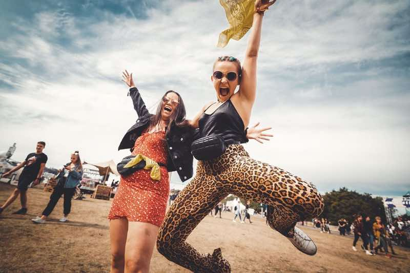Fans excited at Lollapalooza Berlin Festival
