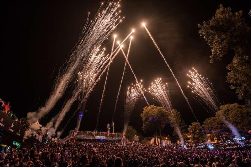 Fireworks at Lovefest
