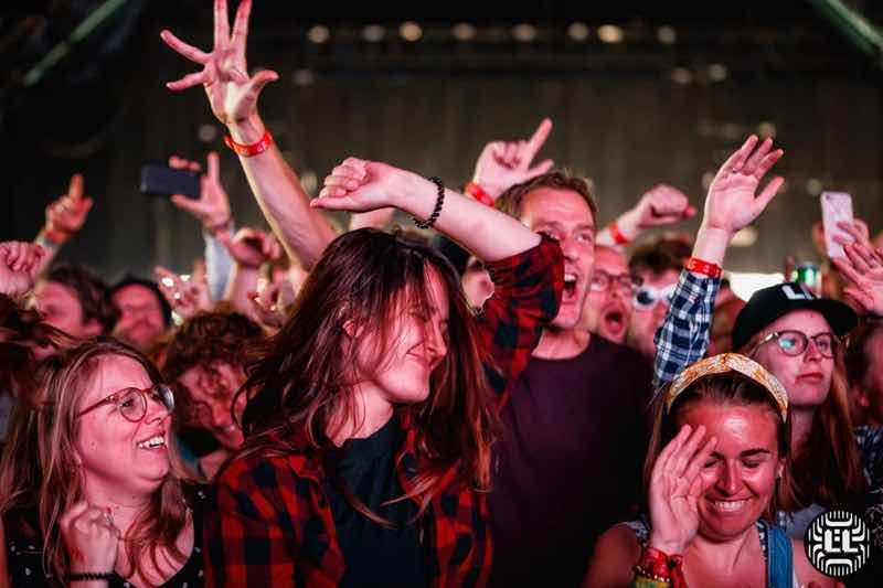 Fans enjoying at Lowlands Festival