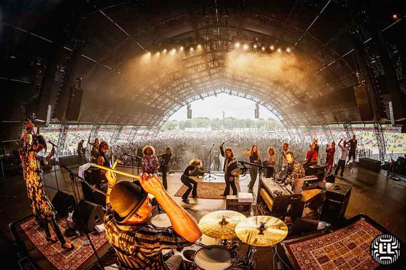Stage view at Lowlands Festival