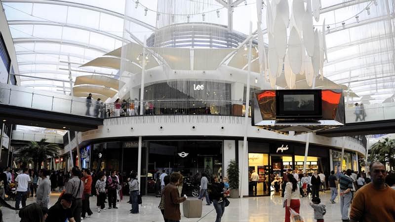Madrid's Islazul shopping mall