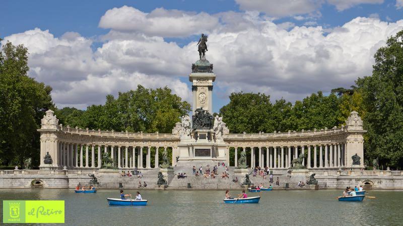 best family destinations Madrid Retiro Park