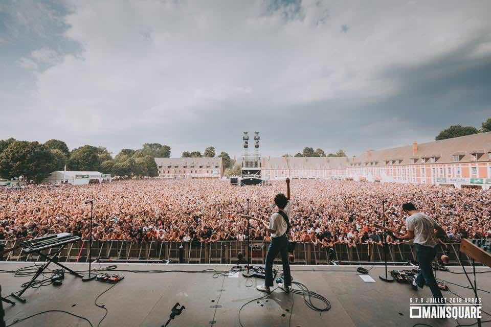 Main stage view at Main Square Festival