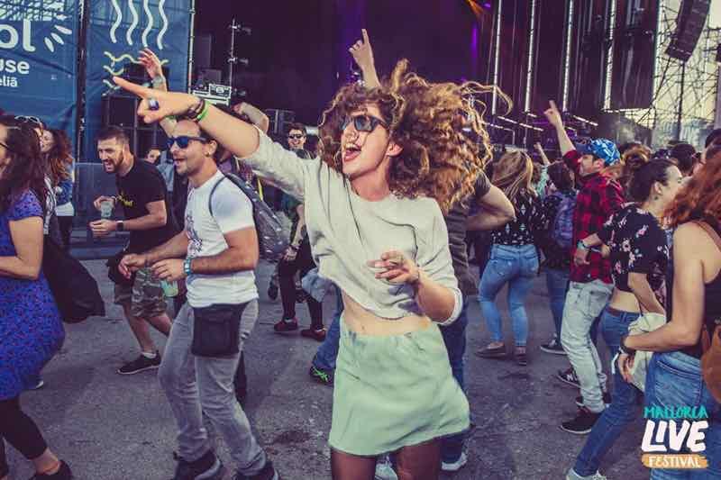 Fans enjoying at Mallorca Live Festival
