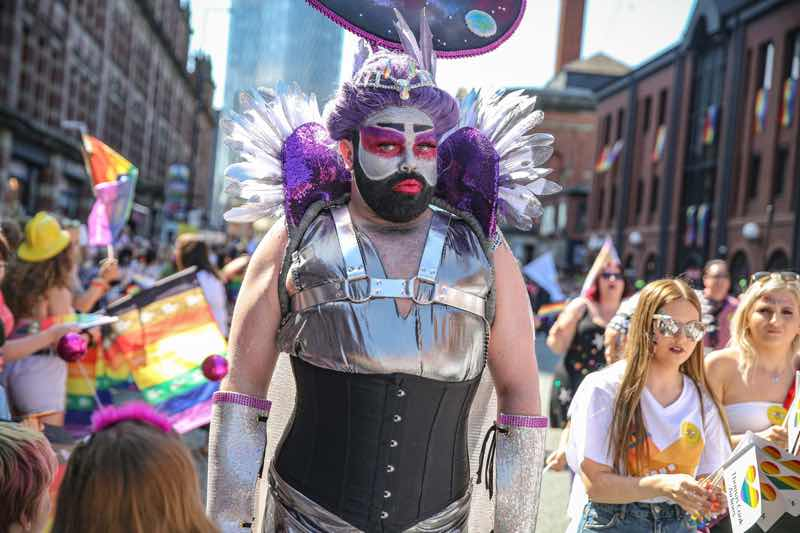 Parade at Manchester Pride Festival