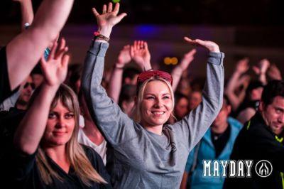 Fans enjoying at mayday dortmund festival