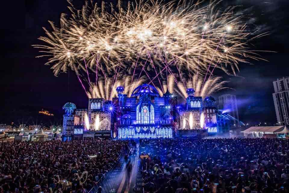 Fireworks at Medusa Festival
