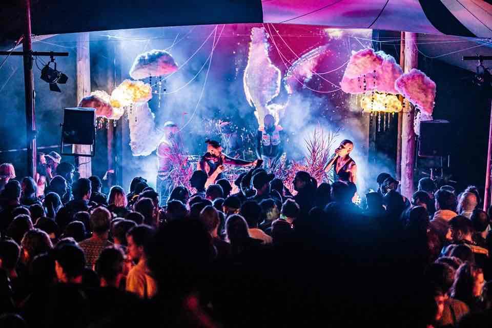 Performing at Melt Festival