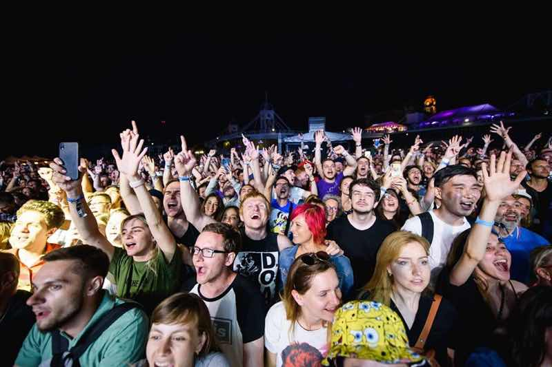 Fans excited at Metronome Festival Prague