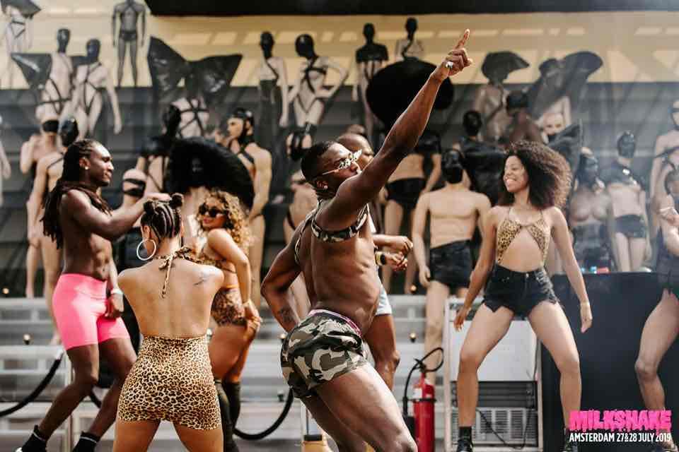 Dancing at Milkshake Festival Amsterdam