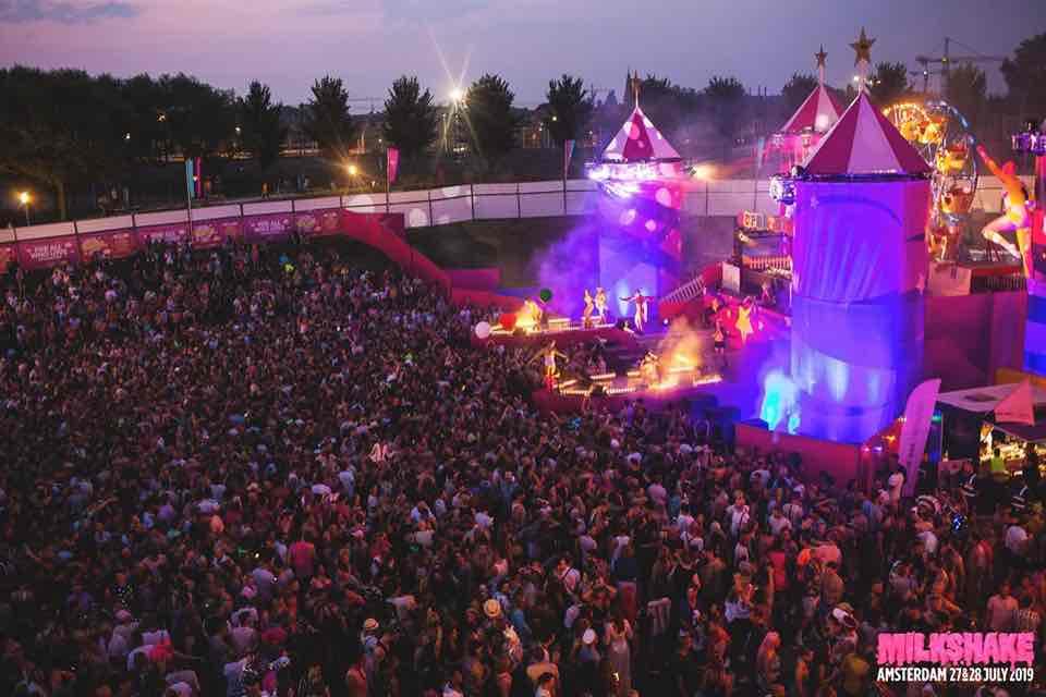 Main stage at Milkshake Festival Amsterdam