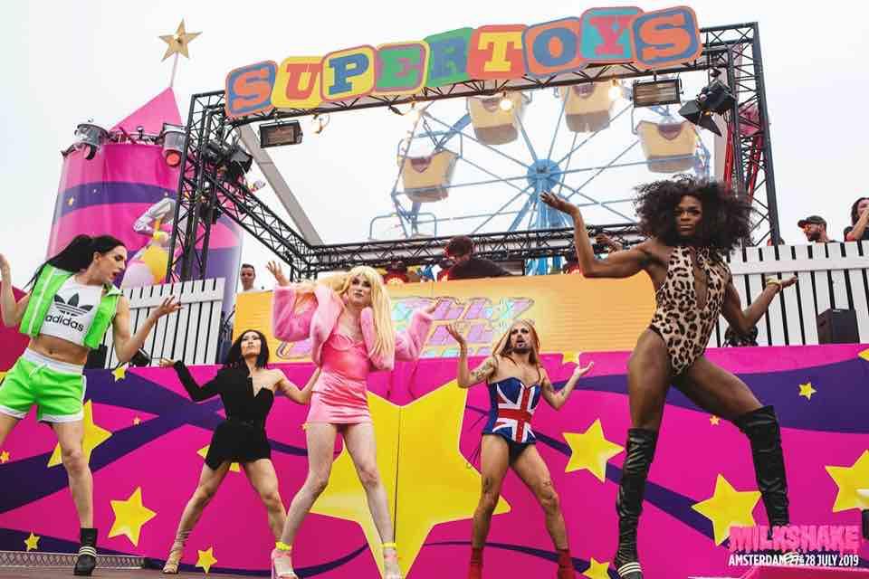 Supertoys stage show at Milkshake Festival Amsterdam