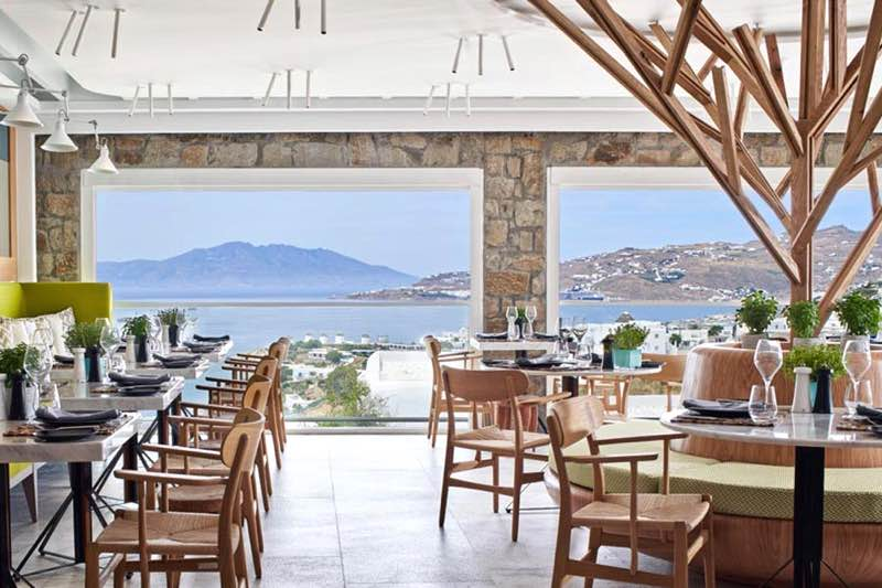 NOA Greek Restaurant in Mykonos Travel Guide