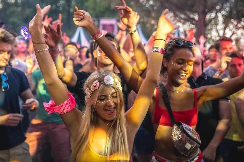 Fans enjoying at Mysteryland Festival