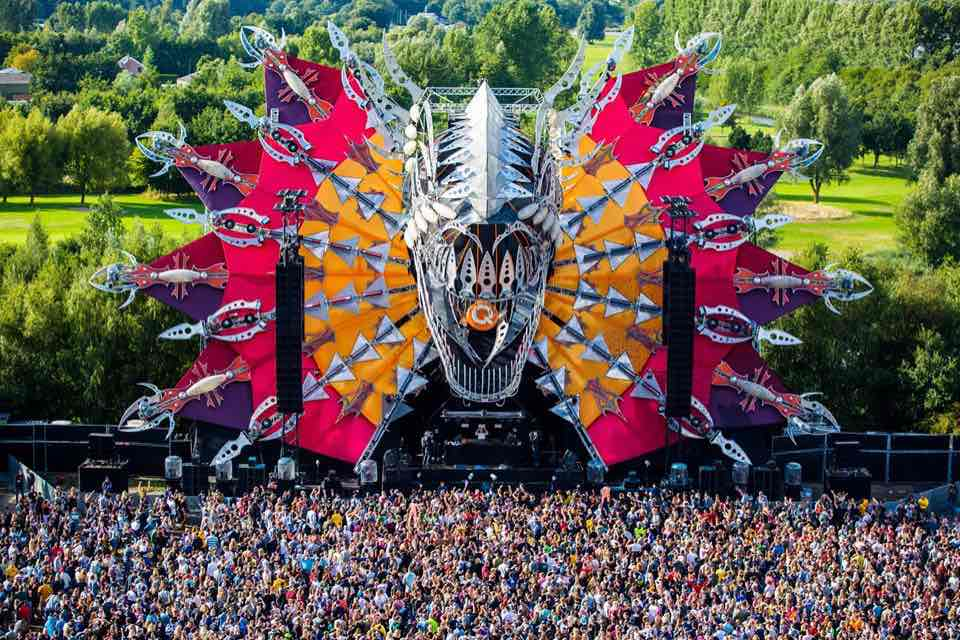 Main stage at Mysteryland Festival
