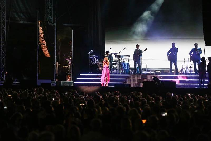 Kylie Minogue at Nocturne Live at Blenheim Palace