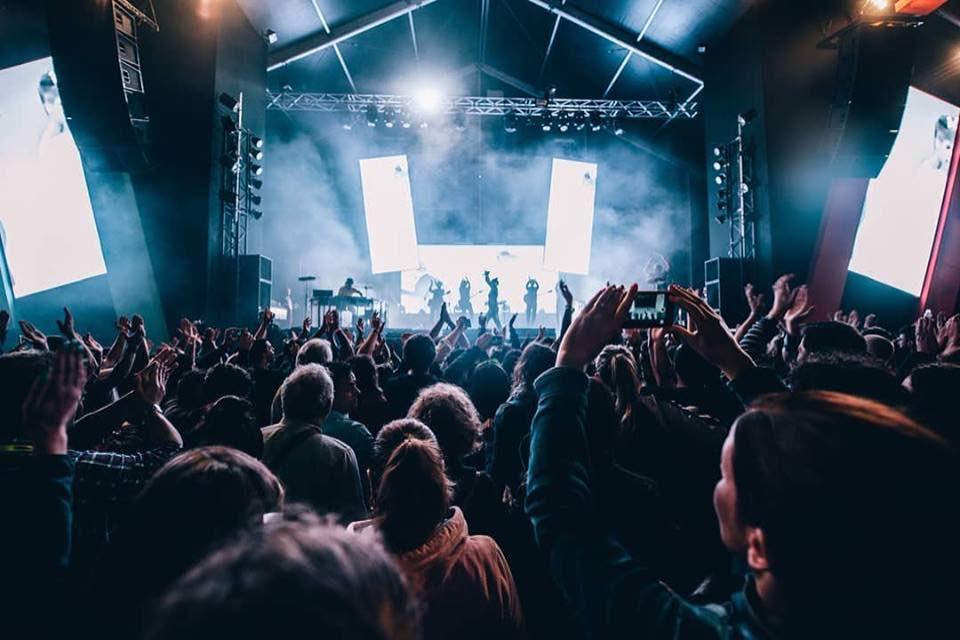 Fans enjoying at Nos Alive Festival