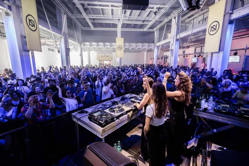 Performing at Nuits Sonores Festival
