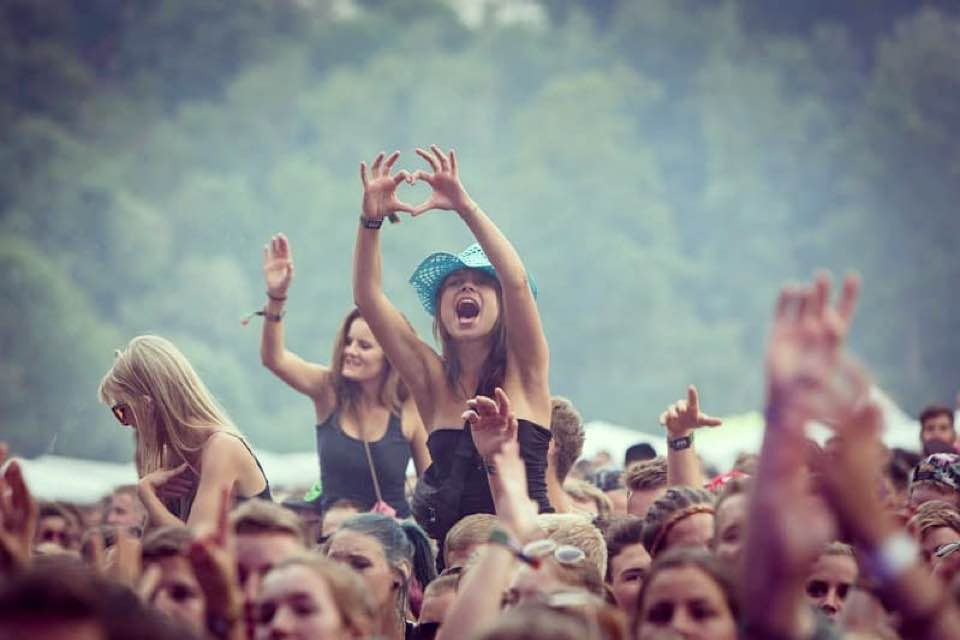 Fans excited at Openair St Gallen Festival