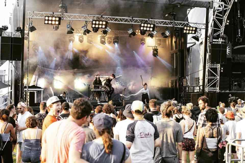 Skiba Shapiro performing at Openair St Gallen Festival