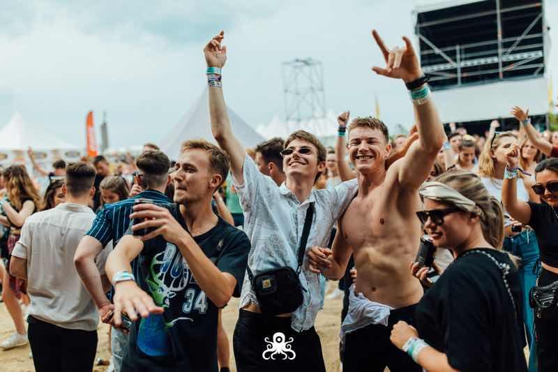 Having fun at Ostend Beach Festival
