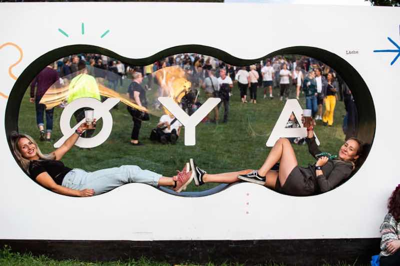 Fans enjoying at Oya Festival