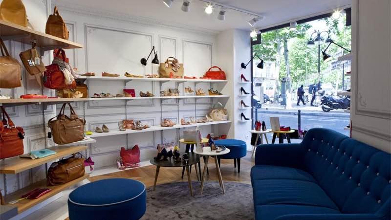 Mellow Yellow Ternes shop at Avenue des Ternes in Paris best places to shop