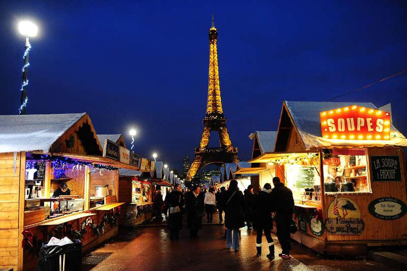 best christmas destinations paris christmas market