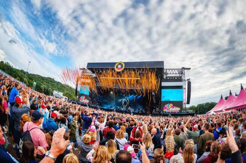 Stage view at Pinkpop Festival