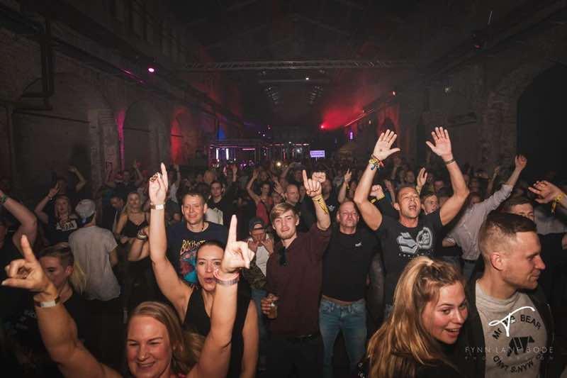 Fans dancing at Pioneer Dj Alpha Festival