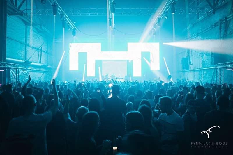 Lights show at Pioneer Dj Alpha Festival
