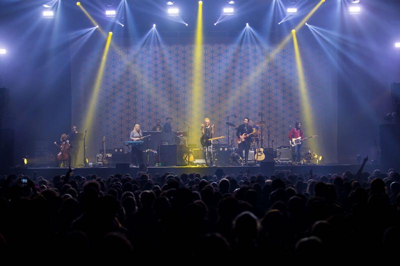 Belle and Sebastian performing at Pitchfork Music Festival Paris