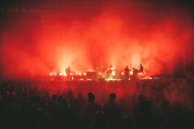 Weyes Blood performing at Pitchfork Music Festival Paris