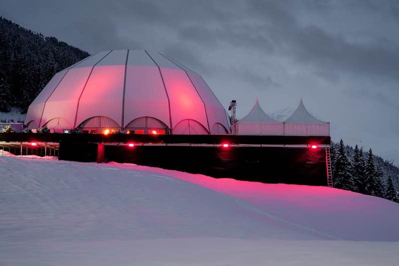 Dome colours at Polaris Festival