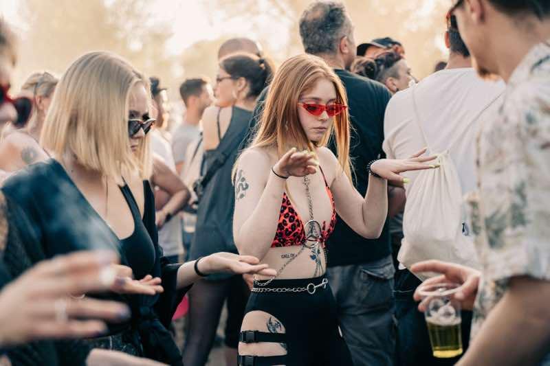 Fans enjoying at PollerWiesen Festival