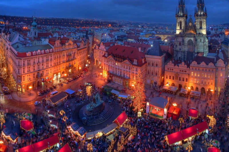 Best Christmas Destinations Prague Christmas Market